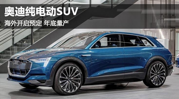 今年底量产 奥迪纯电动SUV开始海外预订
