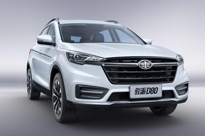 安全配置成亮点 天津一汽全新SUV 命名为骏派D80