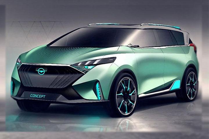 全新福美来F7概念车效果图 北京车展正式亮相