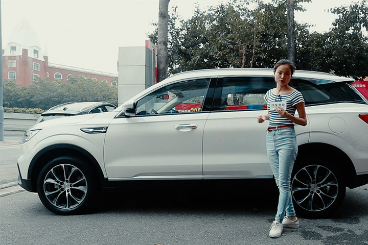 越级的精致豪华  国民SUV众泰T500到店体验