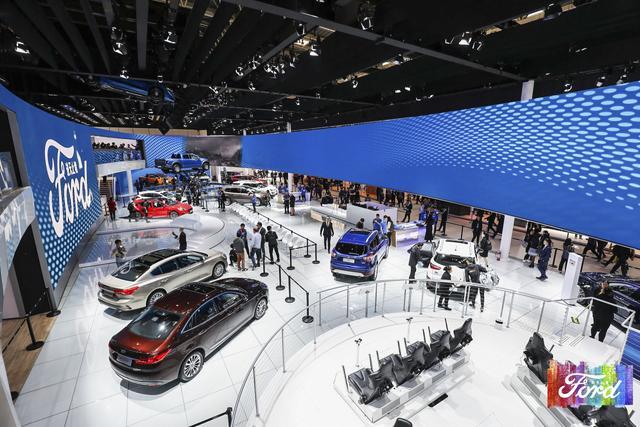 2018北京车展,福特启动最大规模新车发布