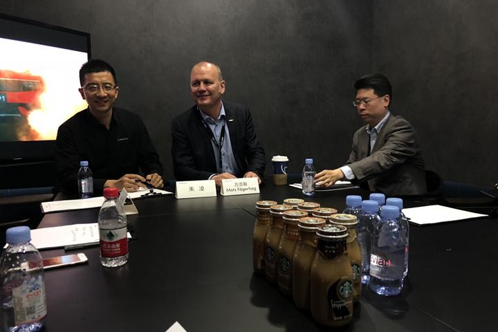 北京车展专访领克高层 解读领克01 PHEV 车型亮点