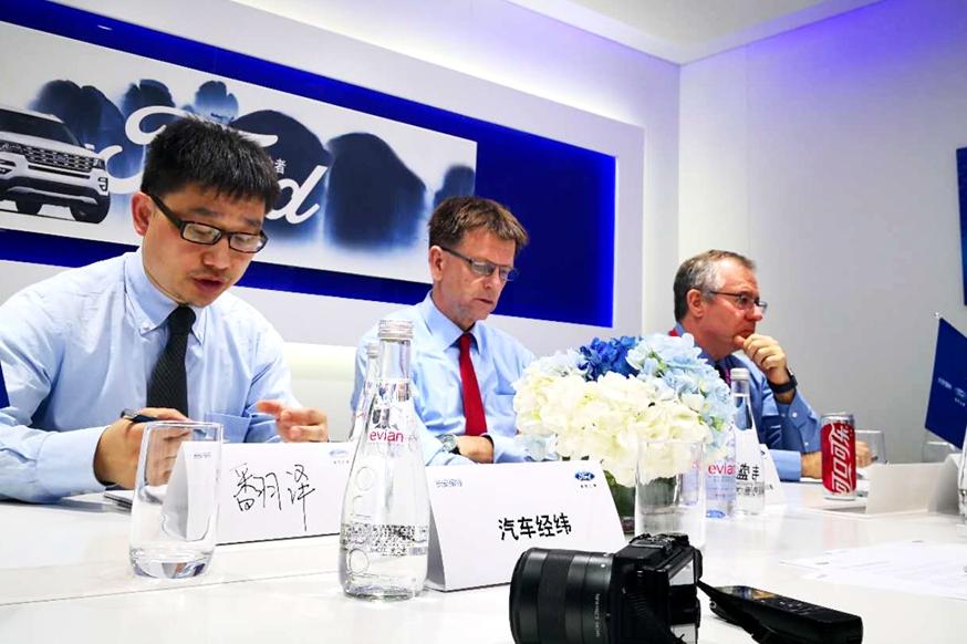 专访福特汽车公司亚太区产品开发副总裁Trevor