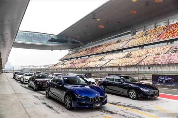 2018款玛莎拉蒂全系首征上海国际赛车场