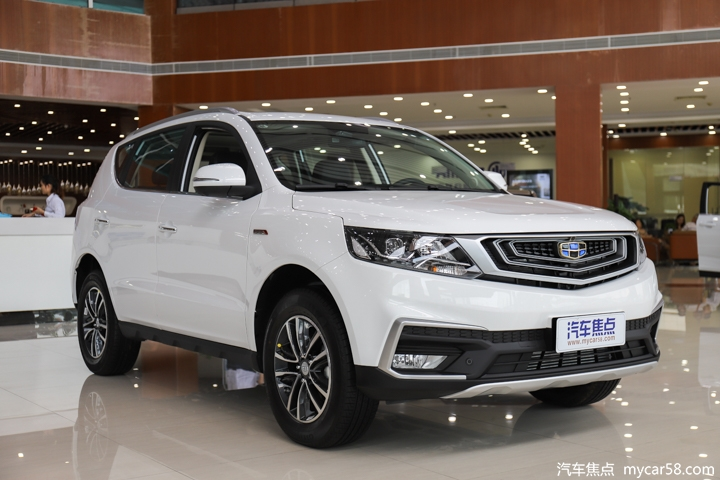 新远景SUV将于6月1日上市 10万元级诚意之作