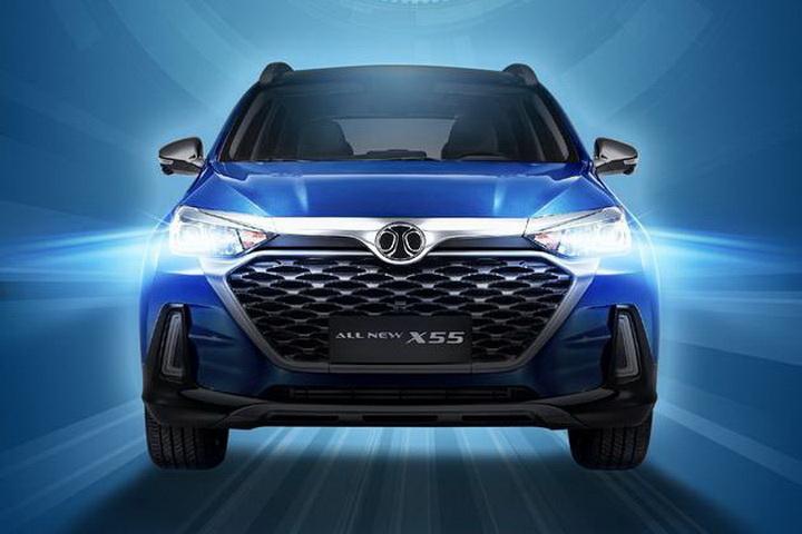 主打人工智能 北京汽车全新X55下半年上市