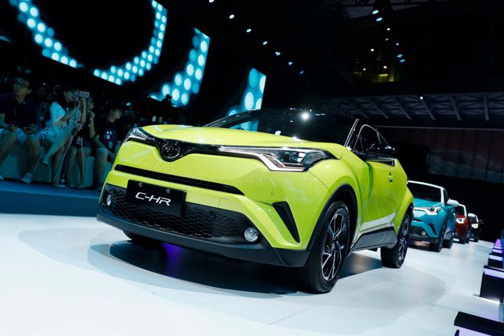 丰田C-HR领衔 新上市个性运动合资SUV推荐