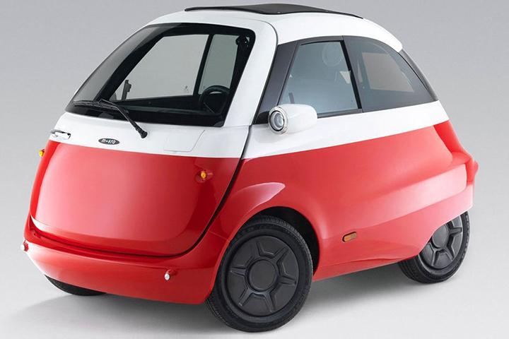 三款微型车推荐 Microlino才是真正把男人变男孩的车