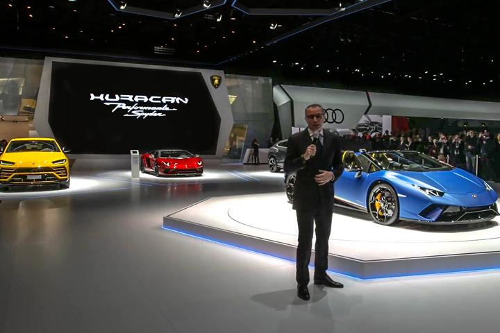 《焦点翻译》:兰博基尼2018年日内瓦国际车展新闻发布会