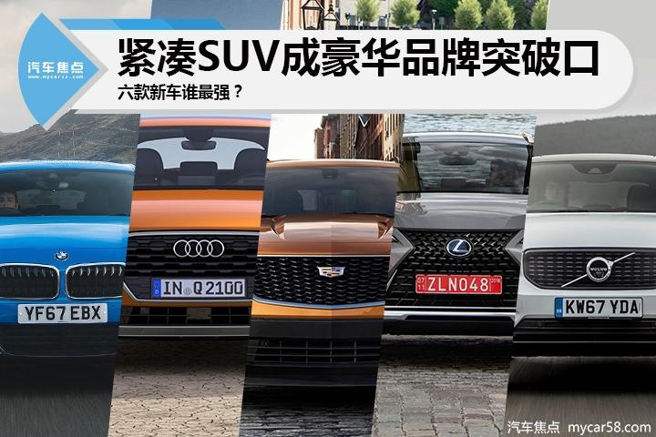 紧凑SUV成豪华品牌突破口,六款新车你选谁?