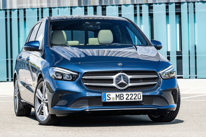 换装1.3T发动机 奔驰全新一代B级全球首发