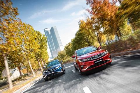 1-10月同比增长33% 7款车型过万  吉利汽车10月销量128,986辆