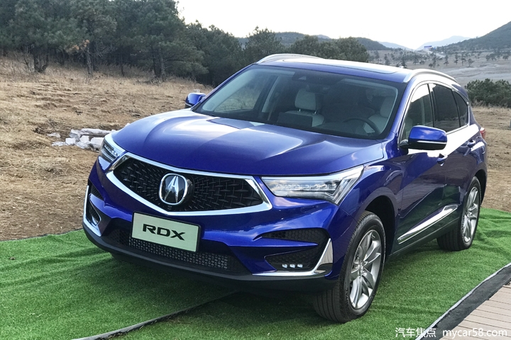 推6款车型/32.8万起售 广汽讴歌RDX正式上市