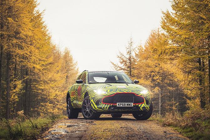 阿斯顿·马丁旗下首款SUV正式定名为DBX   原型车全球测试已启动