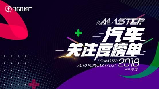 2018广州车展正式开幕 360发布2018车型关注度榜单