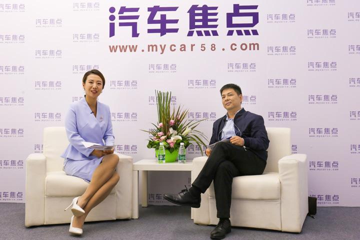 2018广州车展专访大乘汽车广东区域经理卢峻斌