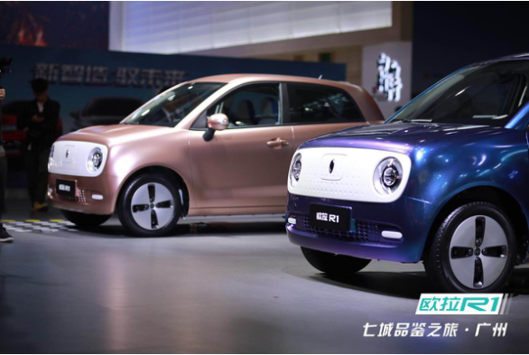 世界第五大精美小车欧拉R1华南预售 6.18万元起