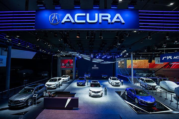 以全新品牌世界观着眼未来 广汽Acura强势出击广州车展