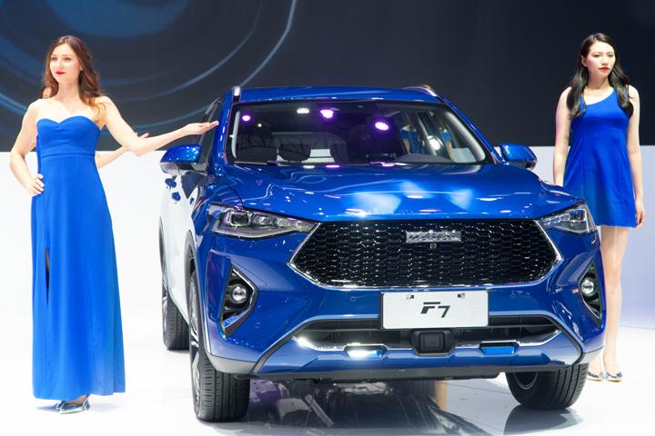 一分钟看车展新车 | 主打年轻科技元素 哈弗F7亮相广州车展