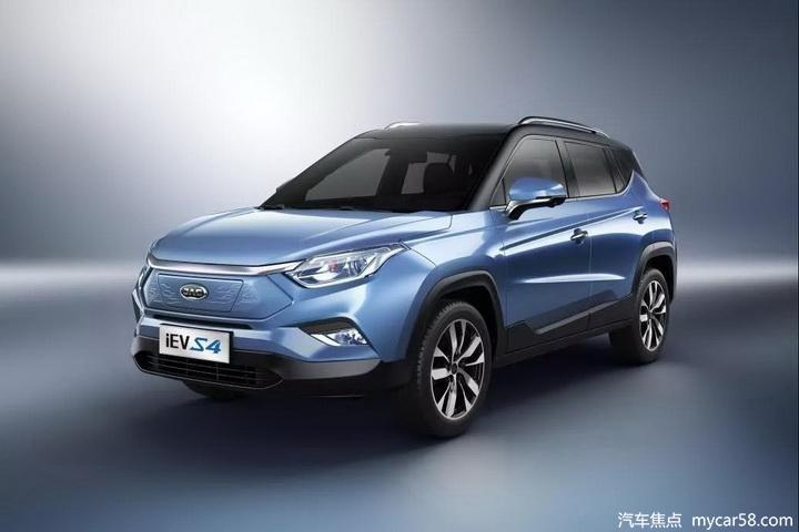 江淮iEVS4正式公布预售价 补贴后13-17万