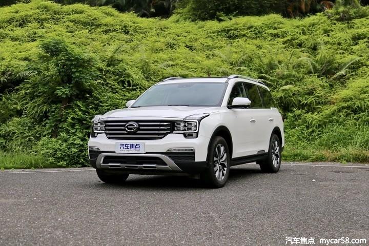 广汽传祺GS8推2.0T高功率版,参数亮眼或今年夏季上市