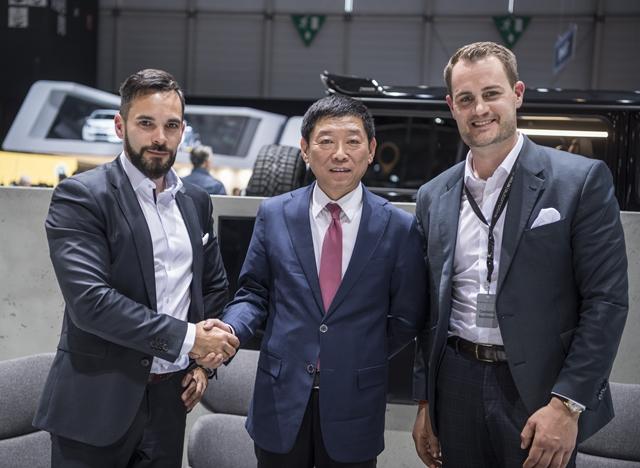 长城汽车与德国巴博斯汽车正式签署战略合作框架协议