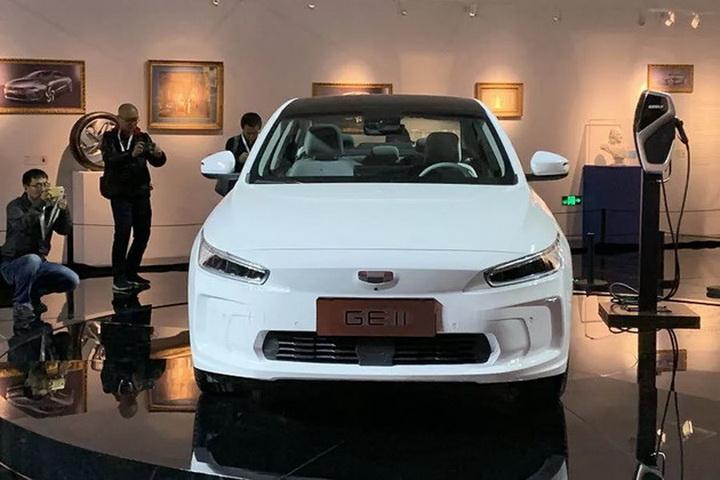 全新GE11电动轿跑4月11正式上市,吉利新能源时代来临