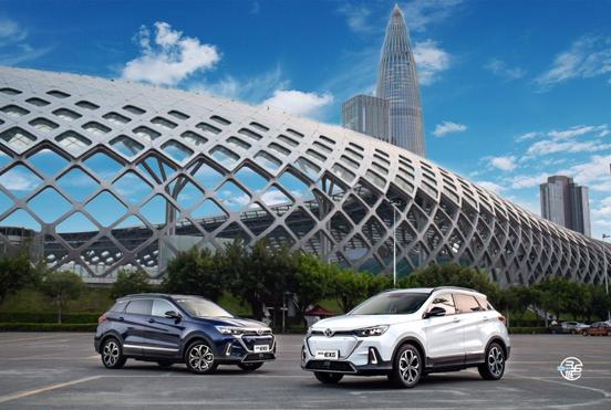 北汽新能源EX5聚智行远·36城接力试驾智行厦门