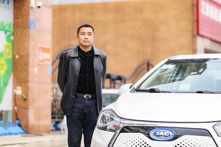 长寿命 安全+江淮iEV7L试驾体验营—行业代表采访