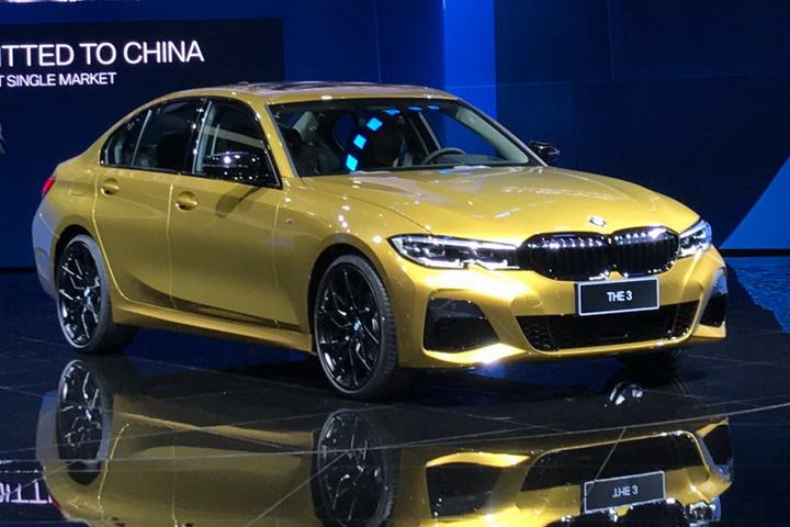 直击上海车展:宝马新一代3系Li全球首发
