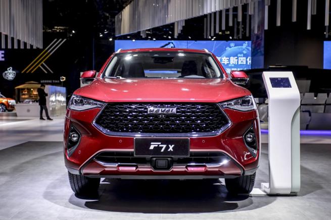 年轻科技控的不二之选 哈弗F7x极智科技版上海车展启动预售
