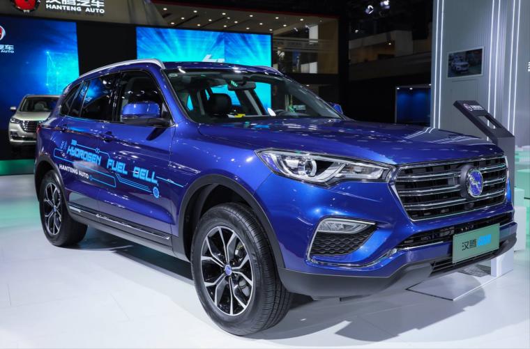 新能源中的新能源 汉腾FCV氢燃料电池车首度亮相上海车展