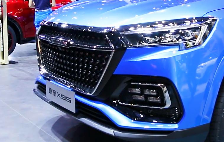 搭载无线充电技术 捷途X70S EV上海车展实拍