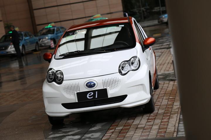 诚意与实力并存,汽车焦点试驾体验比亚迪e1