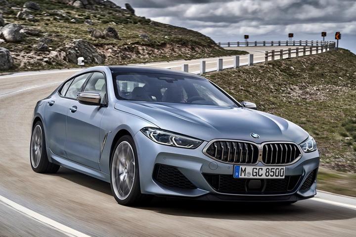 对标同级豪门,宝马旗舰桥跑M8 Gran Coupe 9月欧洲开售