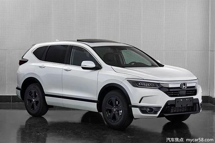 CR-V姊妹车型!广汽本田全新紧凑型SUV BREEZE曝光