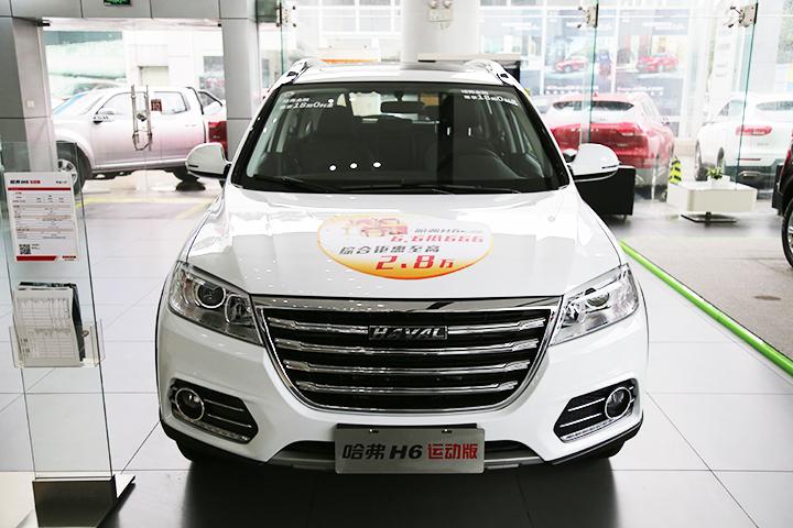 助力国民神车蝉联SUV销冠 静态体验哈弗H6运动版