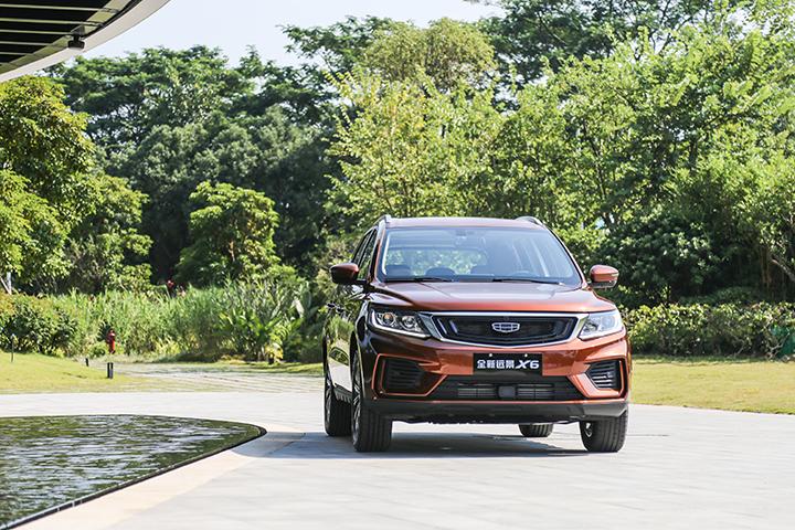 科技配置齐全,7万级别优质国产SUV,静态体验吉利远景X6