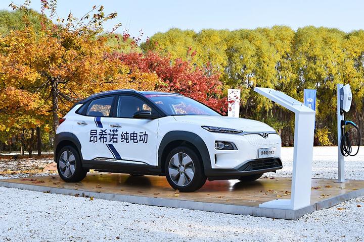 补贴后售价17.28万起,北京现代昂希诺纯电动上市