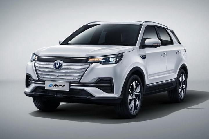 长安E-Rock正式发布,纯电动SUV,基于CS55 PLUS打造