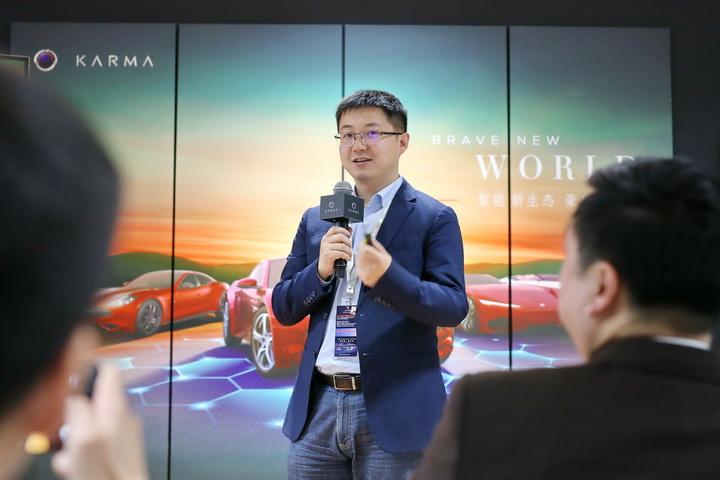 2019广州车展:汽车焦点专访万向区块链副总经理杜宇