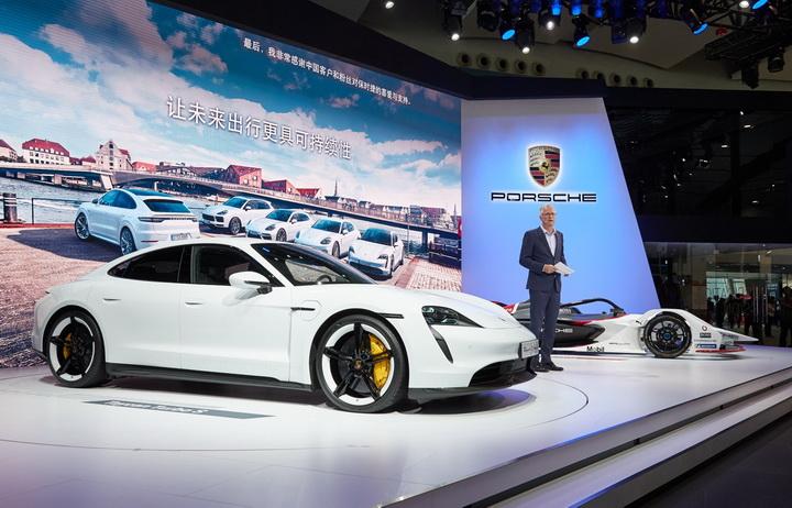 保时捷,广州车展,纯电,Porsche Impact,99X Electric ,Taycan Turbo