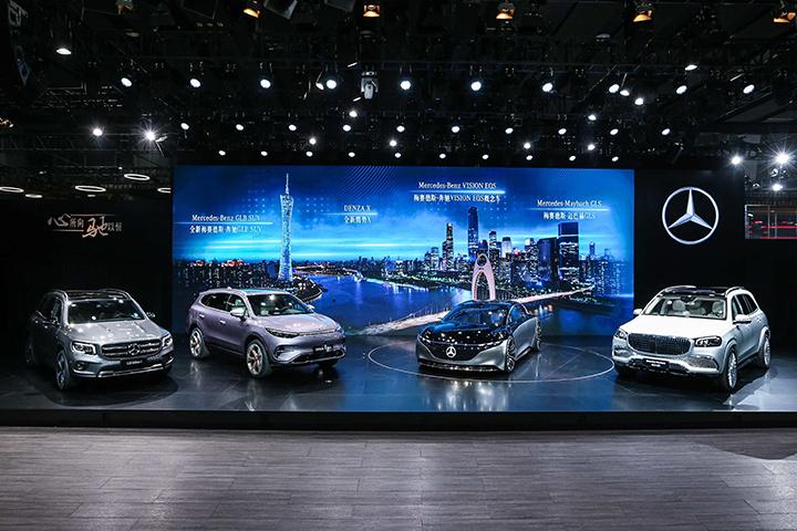 星耀珠江,驰骋未来 梅赛德斯-奔驰携多款重磅车型震撼亮相2019广州国际车展