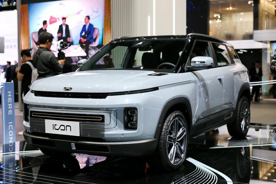 广州车展,实拍,吉利icon,SUV
