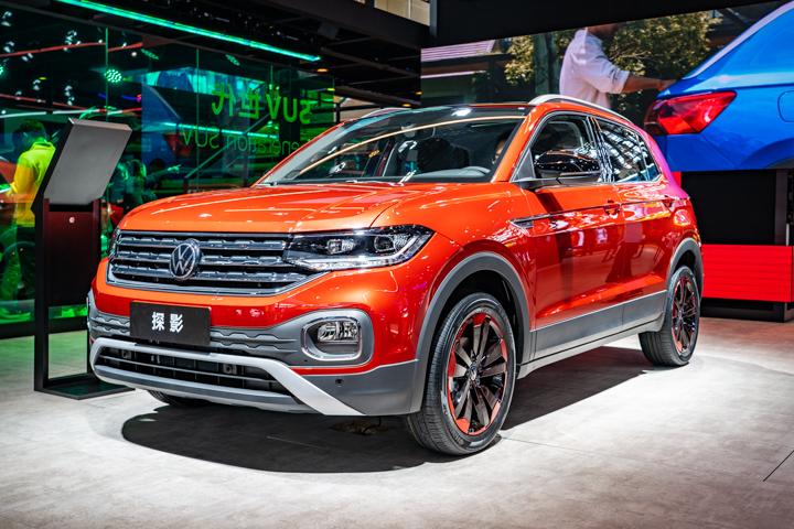 主打年轻市场,将于12月上市,广州车展实拍一汽-大众探影