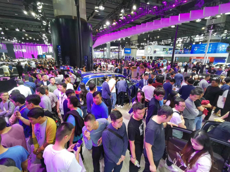 吸引观众76万人次 2019广州车展览会圆满闭幕