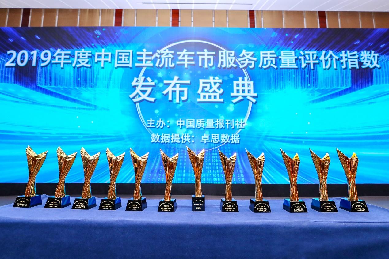 2019年度中国主流车市服务质量评价指数在京发布