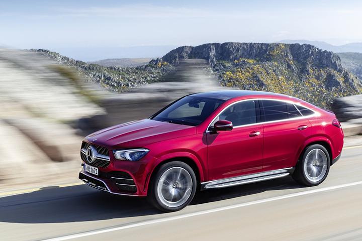 焦点速览:全新奔驰GLE Coupe