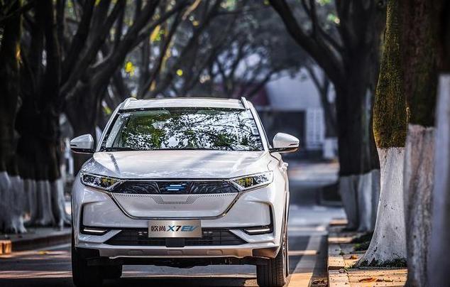 """2020年新能源""""黑马""""?长安欧尚X7 EV正式亮相发布 续航达405km"""