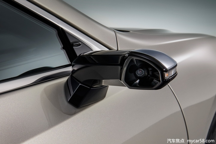 配流媒体电子后视镜,新款ES下月日内瓦车展亮相